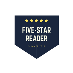 """Five star reader"" digital badge"